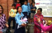 UFO Members Help Earthquake Relief Program in Nepal