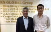 World Freight International Pay Official Visit to KS Global