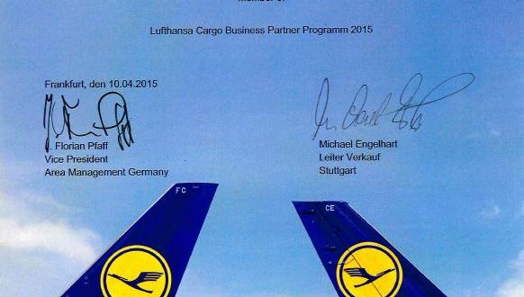ALLSTA Nominated for Lufthansa Business Partner Program