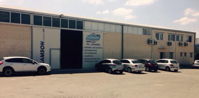 UFO Cyprus: New Office and Warehouse Facility