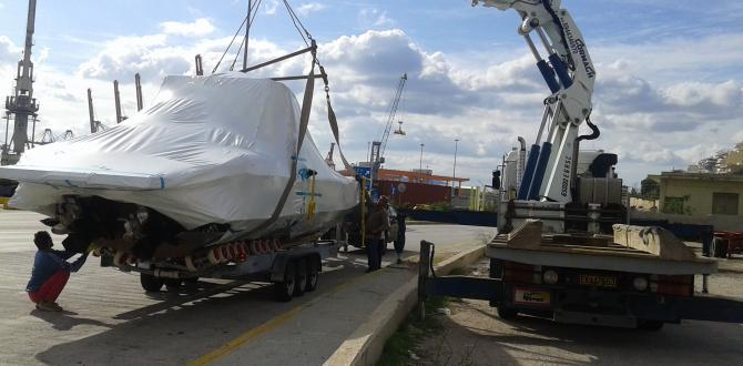 Aktis Shipping & Forwarding Report Delivery of Luxury Speedboat