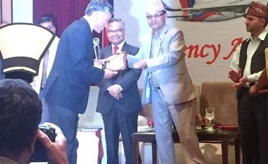 World Freight International Awarded by Nepal Airlines