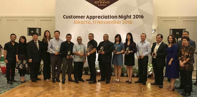 Trans Pacific International Logistics Win Etihad Cargo 'Top Customer Award 2016'