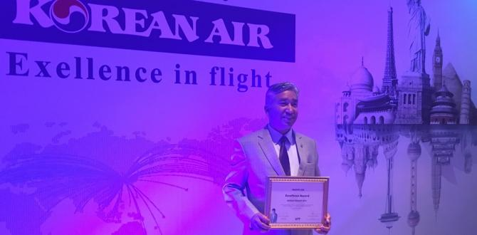 World Freight International Awarded as Top Cargo Sales Agent by Korean Airlines