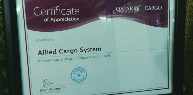 Allied Cargo System in Pakistan Awarded by Qatar Airways