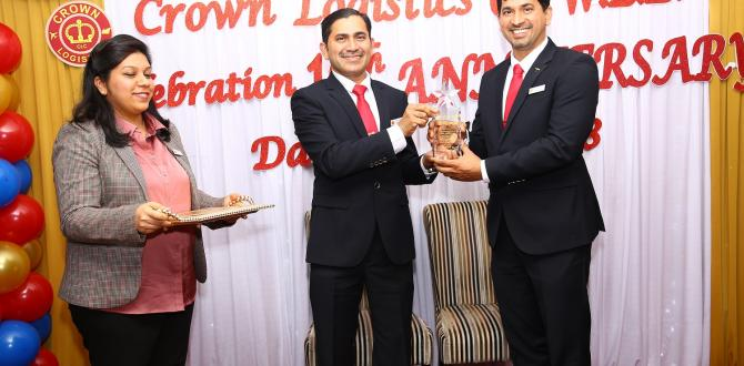 Crown Logistics Celebrate Their 10th Business Anniversary