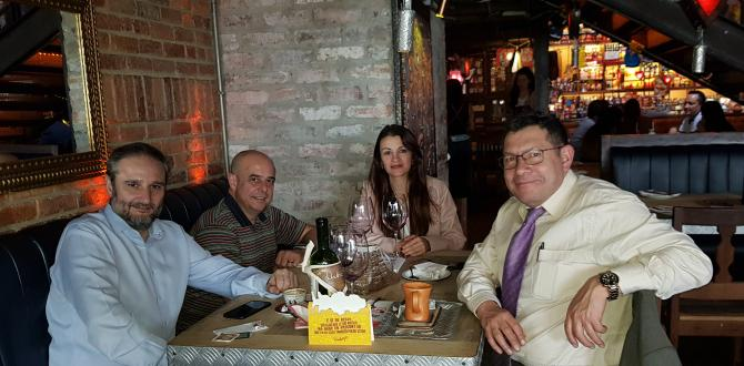 Plaza Forwarding of Spain Visit L&L International in Colombia!