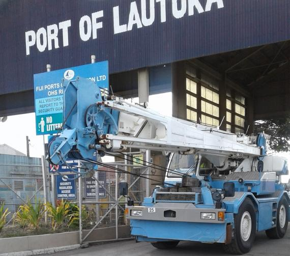 Cross Ocean Freight Logistics Deliver Two Mobile Cranes