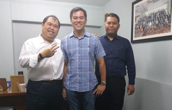 Founder Member, Freight Facilitators recently visited by Trans Pacific International