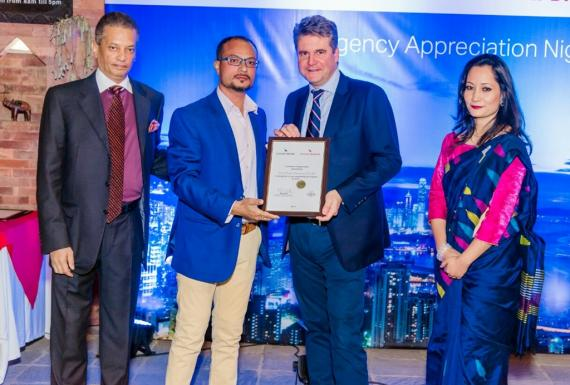 World Freight International Receive Award from Cathay Dragon Airways