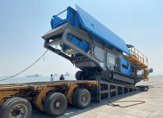 Green Channel Forwarders Report Latest Machinery Shipment